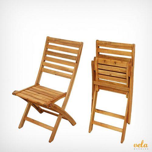 sillas plegables baratas de playa camping madera