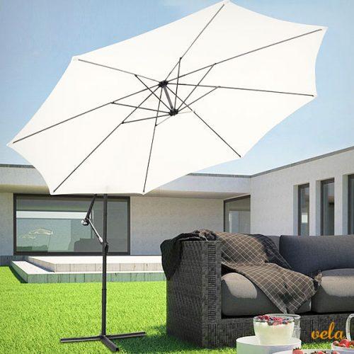 Parasol excéntrico jardín