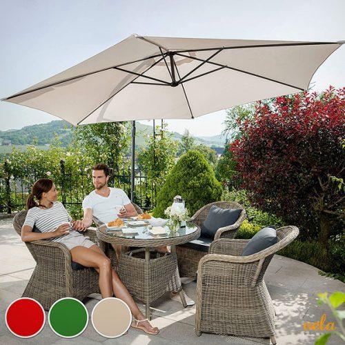 Sombrillas playa y terraza online Parasoles para jardn de brezo