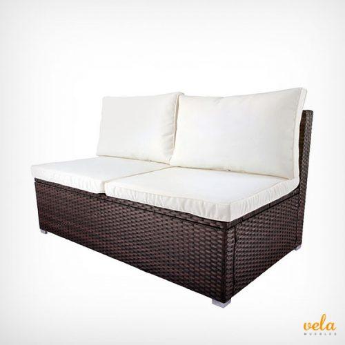 sof s de jard n y terraza exterior arcon baratos On sofa exterior resina resina trenzada barato