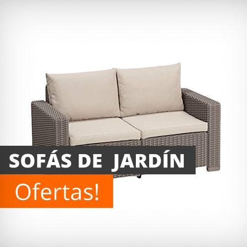 Muebles de jard n y terraza baratos conjuntos mesas y for Compra de sofas baratos