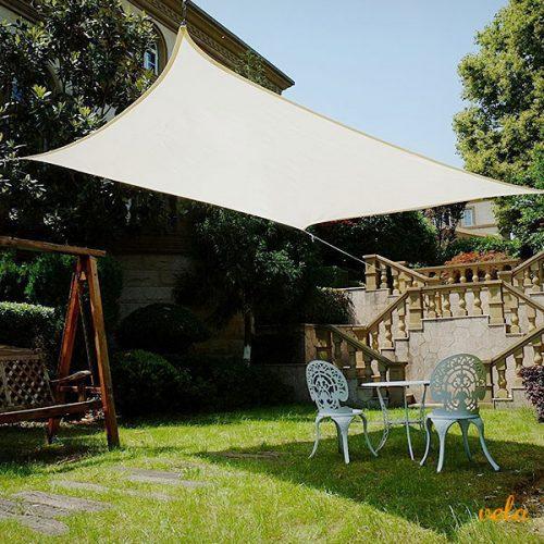 Vela parasol rectangular