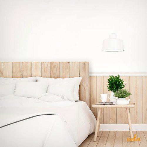 Cabeceros de cama de madera blanco vintage tallada rusticos - Cabeceros madera vintage ...