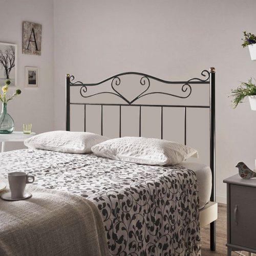 cabeceros de forja baratos online de cama blanco