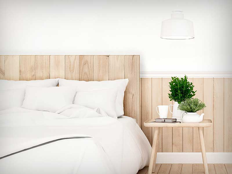 cabeceras de madera