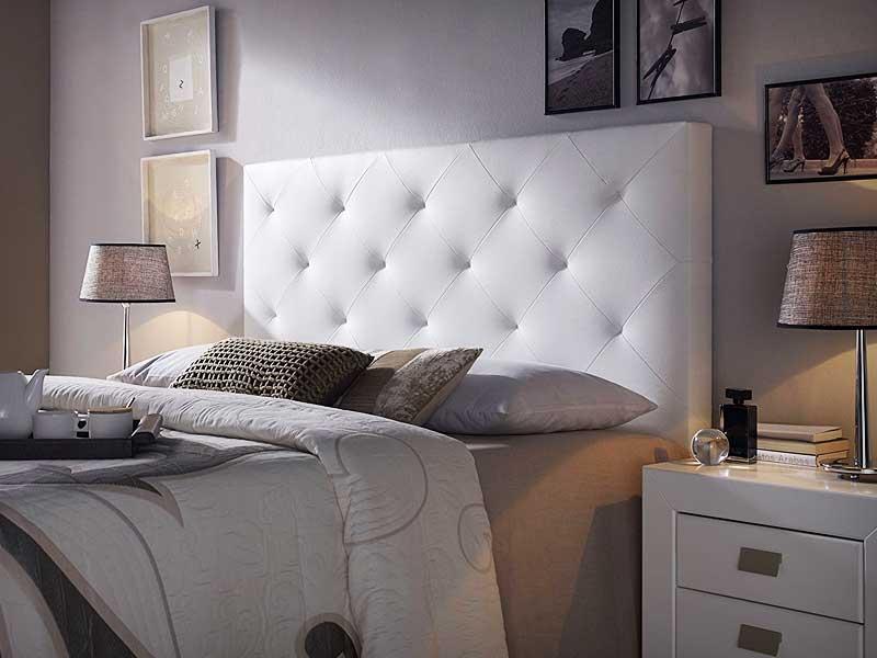 Cabeceros de cama tapizados baratos