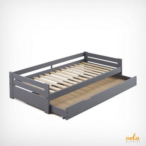 Camas nido con cajones blanca baratas 105x200 for Cama nido barata online