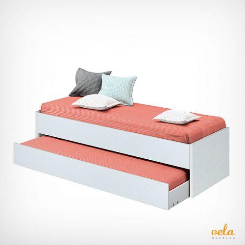 camas nido baratas online con cajones blancas