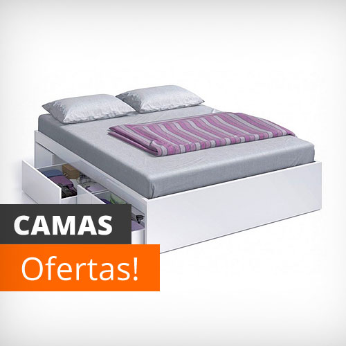 Vela muebles baratos online outlet 1000 muebles low cost for Camas baratas online