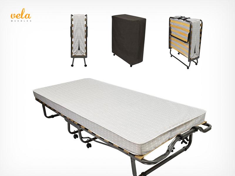 Camas plegables baratas online mueble cama puff for Camas plegables baratas