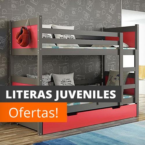 Literas baratas online con escritorio infantiles for Literas juveniles baratas