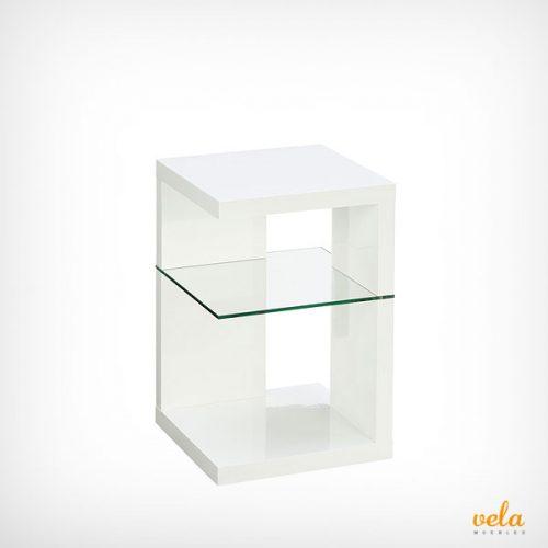 cristal, madera