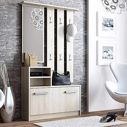 espejo perchero armario