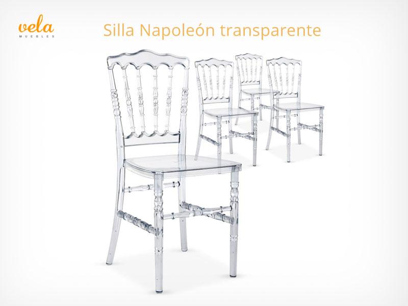Silla Napoleón transparente