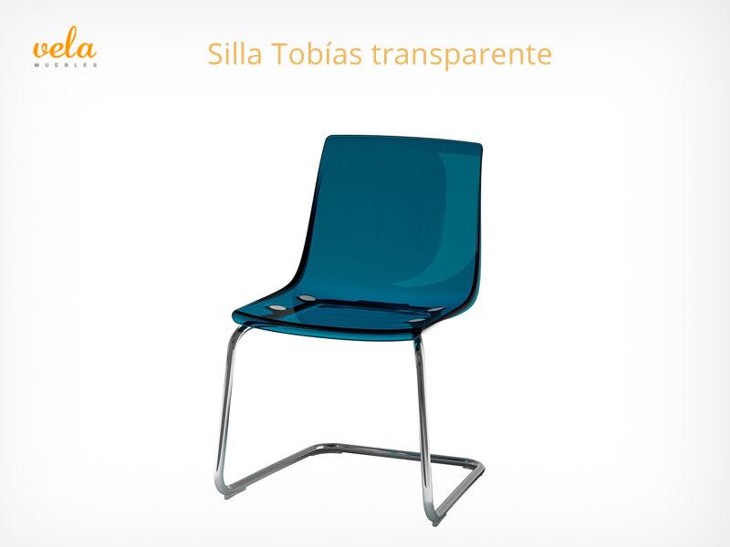 Silla Tobías transparente