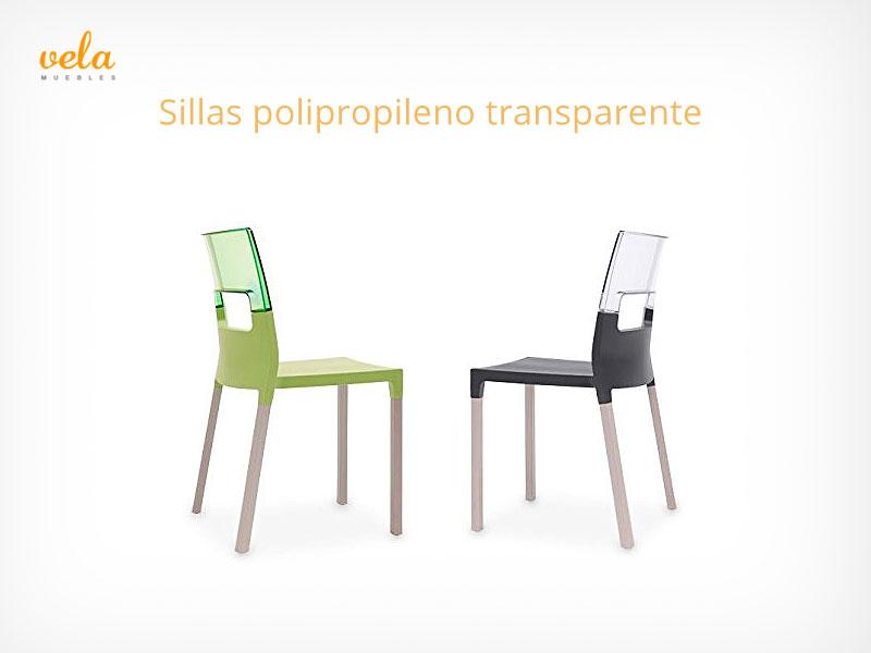sillas polipropileno transparente