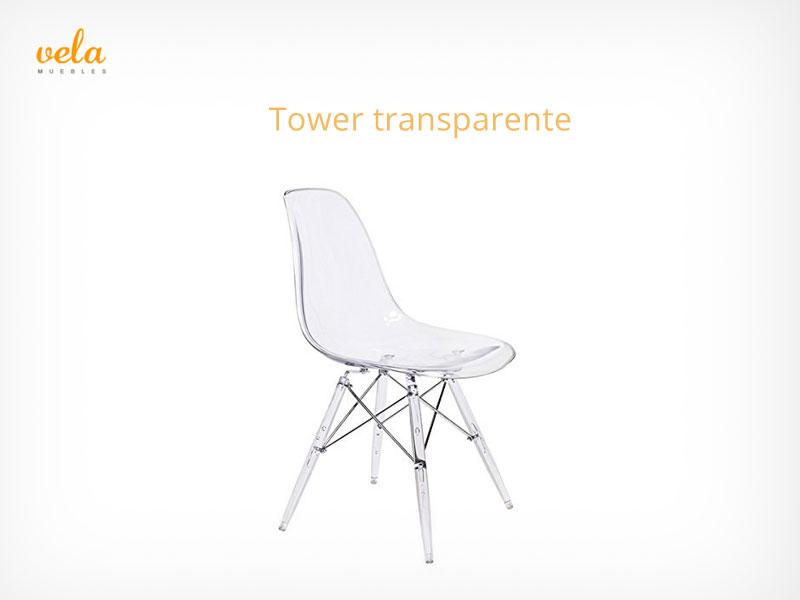 Silla tower transparente
