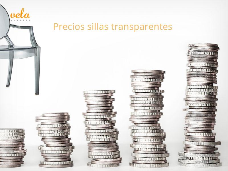 Sillas transparentes precio