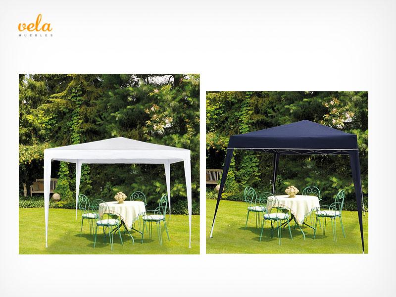 Carpas cenadores y p rgolas de jard n terraza camping Comprar muebles de jardin baratos