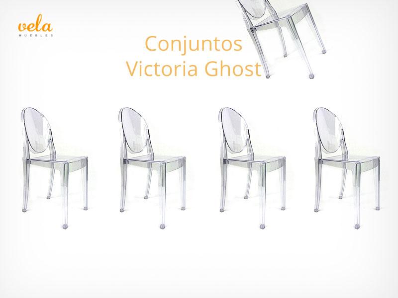Conjuntos Oui Home victoria ghost transparente