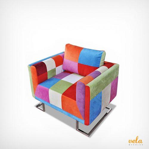 Sillones modernos baratos para sal n dormitorio individuales - Sillones tapizados modernos ...