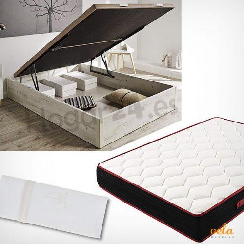 Canapé colchón y almohada