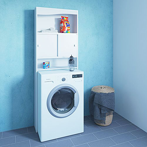 Mueble lavadora baño