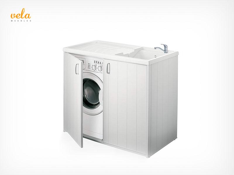 Mueble para lavadora y secadora - Mueble para secadora ...