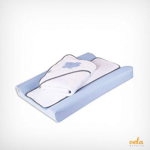 plastificado con toalla a juego