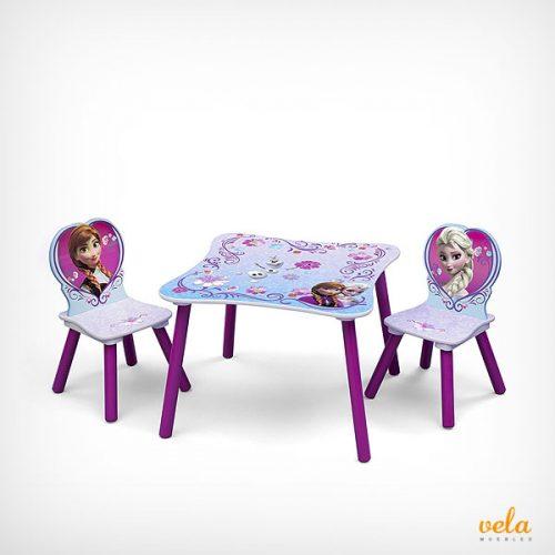 Mesas y sillas infantiles Disney