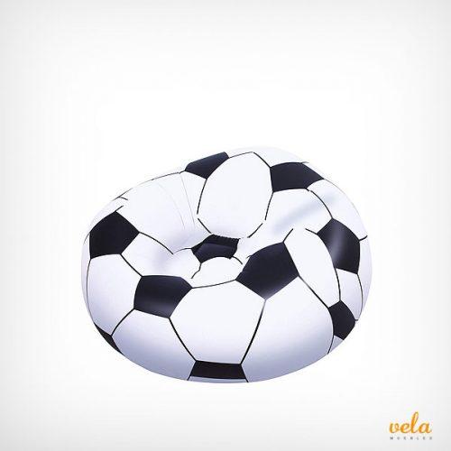 Puff infantil fútbol
