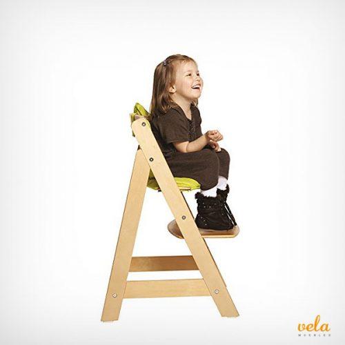 Trona evolutiva bebé de madera