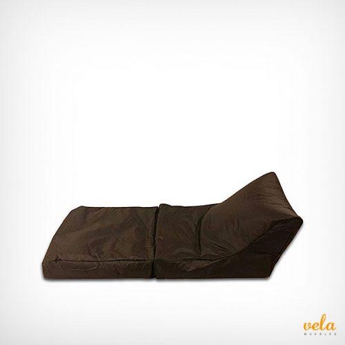 Puff cama exterior tumbona