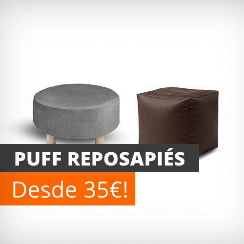 Puff reposapiés