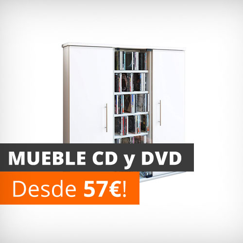 Muebles para cds y dvds