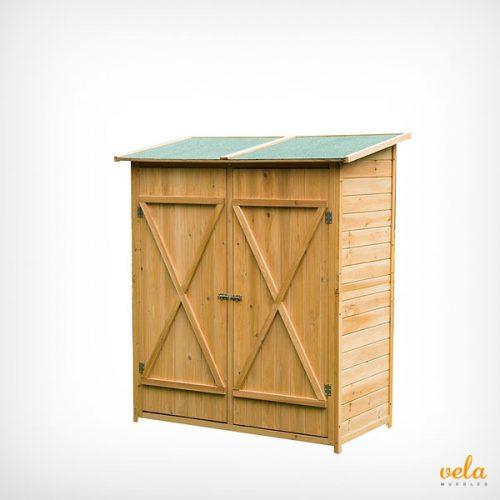 caseta madera jardín