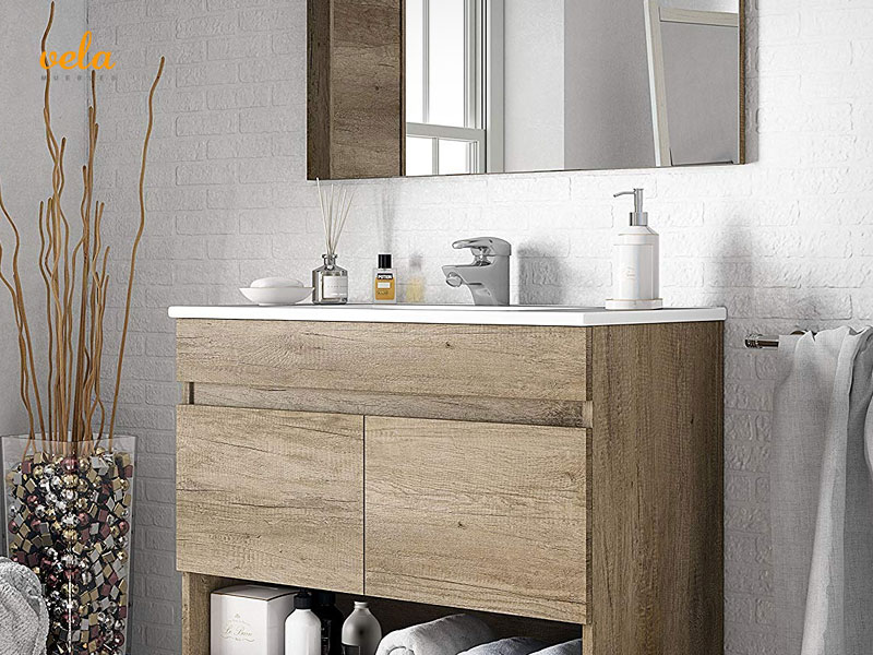 Muebles de ba o baratos online con lavabo outlet for Outlet muebles de diseno online