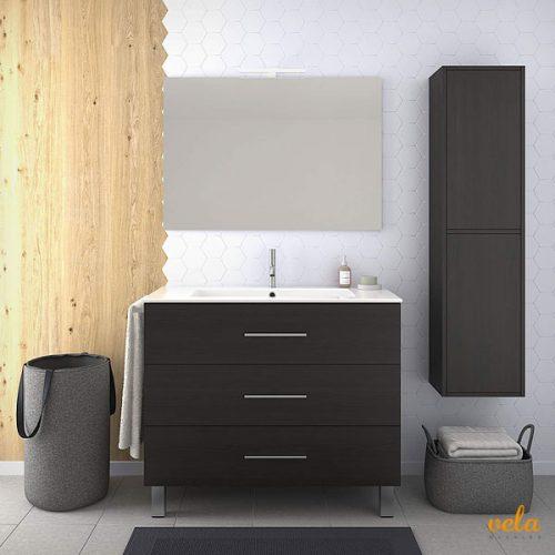 Mueble de baño con tres cajones