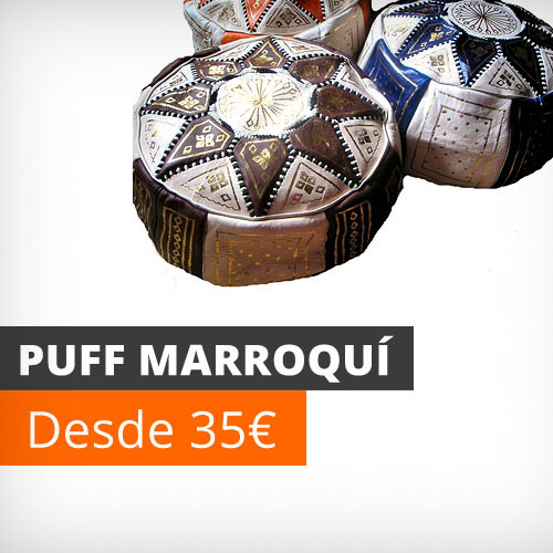 Puff marroqui
