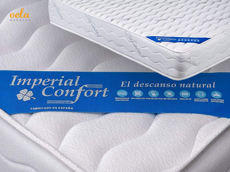 colchones imperial confort relax deluxe