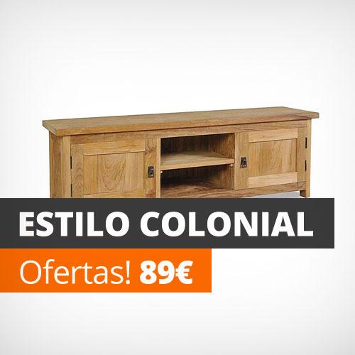 Mueble salon colonial