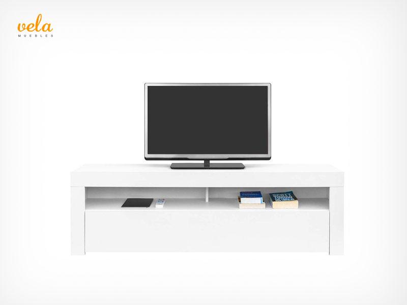 Mueble tv salón minimalista