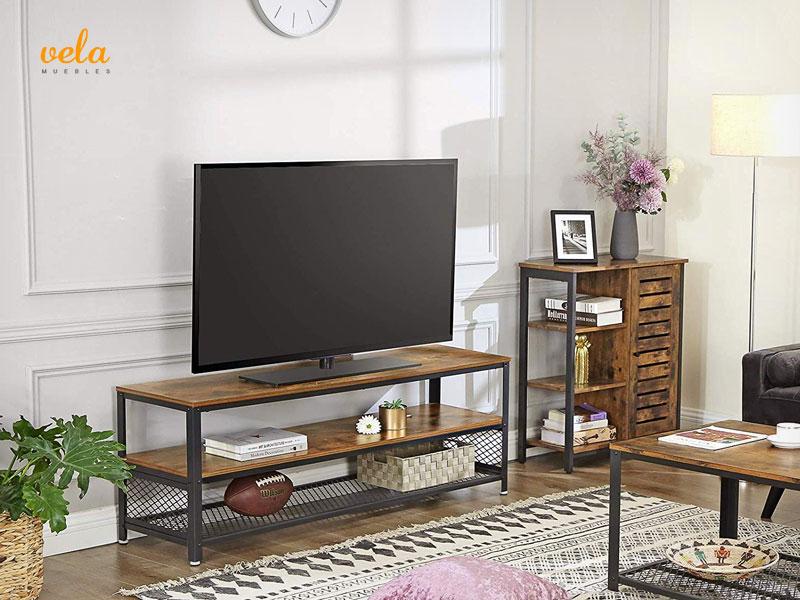 Muebles salón estilo industrial