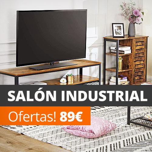 Muebles salón industrial