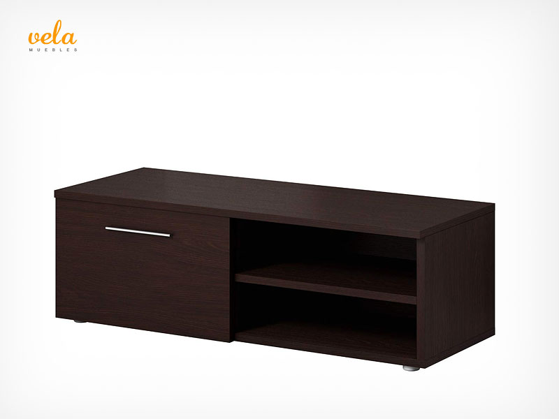 mueble salon roble wengue