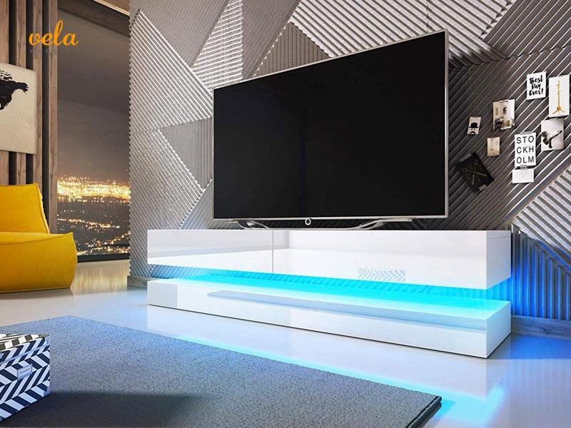 Mueble salón tv led