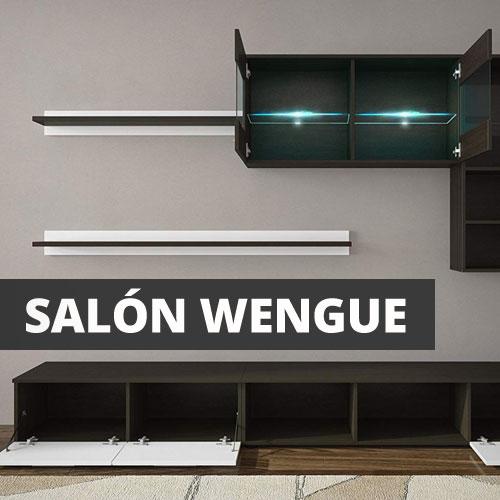 mueble salon wengue