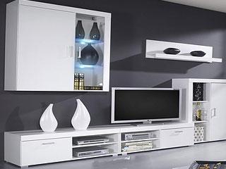 Muebles de salón minimalista