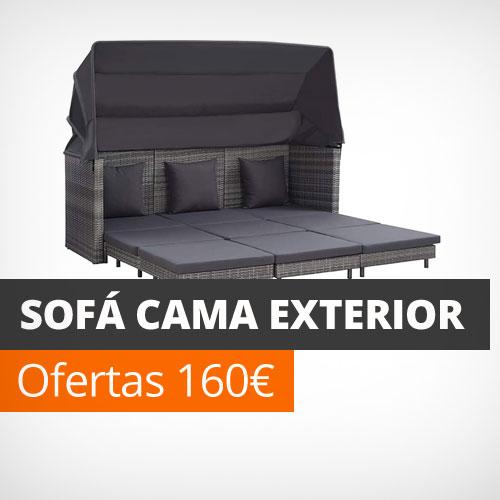 Sofa cama exterior