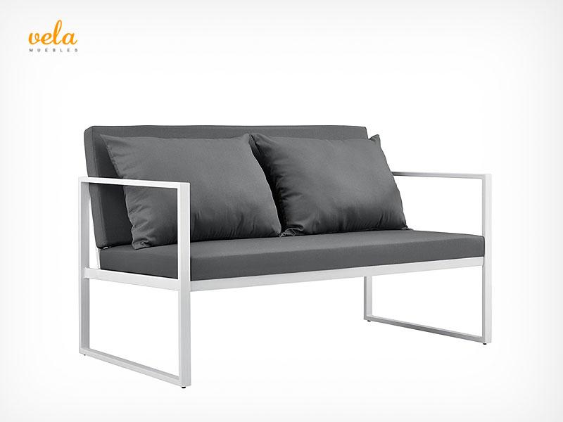 sofa aluminio exterior